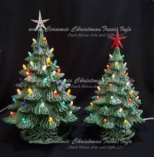vintage ceramic christmas tree ceramic christmas tree collection vintage 16 and 19 ceramic