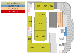 floor plans and meeting room capacities at the new york conference