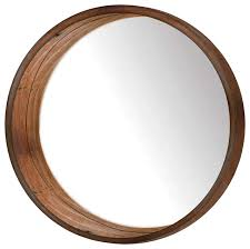 circular wood wall ptm images wooden wall mirror view in your room houzz