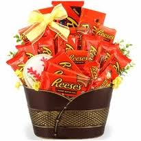 sports gift baskets graduation m m s candy bouquet