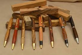 Handcrafted Wooden Pens - wooden made pens and more one of a wood crafts doc s