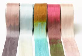 silk ribbon 1 25 variegated silk ribbon by may arts sler the