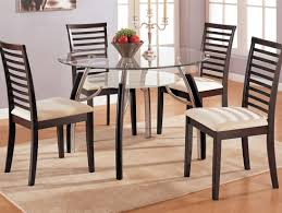 Wrought Iron Kitchen Table Kitchen Endearing Round Glass Top Kitchen Table And Chairs