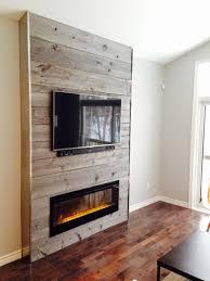 tv and fireplace binhminh decoration