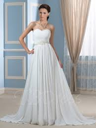 wedding dresses maternity beaded pleated chiffon a line strapless maternity wedding dress