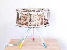 Diy Baby Girl Nursery Decor by Carousel Table Lamp Nursery Decor Diy Gift For Baby Shower