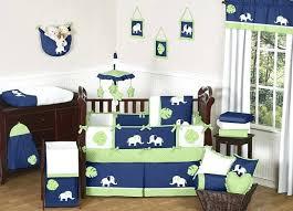 Green Elephant Crib Bedding Baby Boy Crib Bedding Sets Kulfoldimunka Club