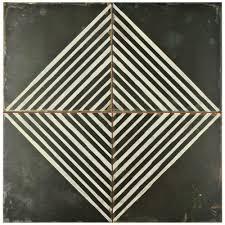 merola tile kings rombos 17 3 4 in x 17 3 4 in ceramic floor and