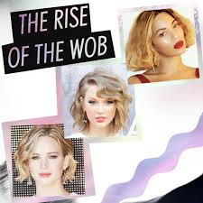 how to style a wob hairstyle the rise of the wob the new wavy bob hair extensions blog