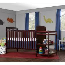 dream on me anna 4 in 1 full size crib and changing table white
