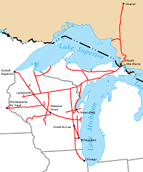 Illinois Railroad Map by Wisconsin Central Ltd Wikipedia