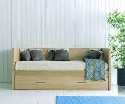 canape lit tiroir canapé lit gigogne en bois brin d ouest