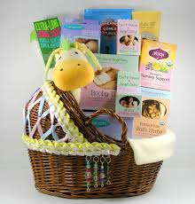 Postpartum Gift Basket After Pregnancy New Mom Care Package With Hand Decorated Bassinet