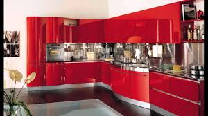 red modern kitchen wall kitchen modern design normabudden com