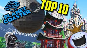 workshop blueprints top 10 workshop blueprints planet coaster youtube