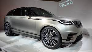 land rover velar blue range rover velar and 2018 jaguar f type to debut in new york
