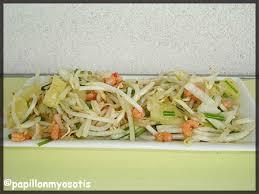 cuisiner le soja frais salade de soja frais ananas et crevettes salade legumes fruits