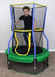 Mini Trampoline With Handrail 11 Best Mini Trampolines For Kids And Toddlers That Love To Jump