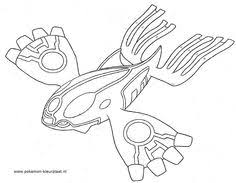 kyogre free coloring pages art coloring pages