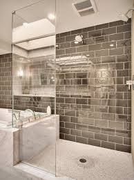 glass subway tile bathroom ideas glass subway tile shower houzz