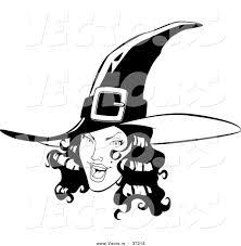 pretty witch face clipart clipartxtras