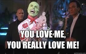 You Love Me Meme - the mask meme nerd speaker nerd speaker