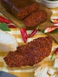 calabrian cuisine calabrian salami nduia calabria italy cuisine