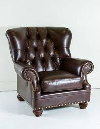 Leather Wing Back Chairs Top 10 Vintage Leather Wingback Chairs