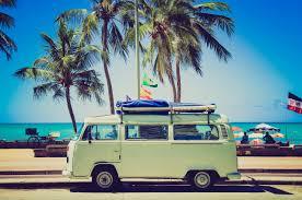 volkswagen van hippie free images water sand sky sunshine automobile volkswagen