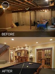 Basement Renovation Ideas Low Ceiling with Basement Remodeling Ideas Before And After Low Ceiling Basement