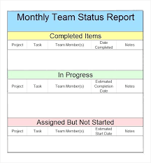 monthly report template ppt monthly report template sle project monthly status report