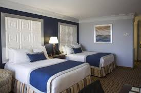 spacious two double bed accommodations rosen plaza hotel