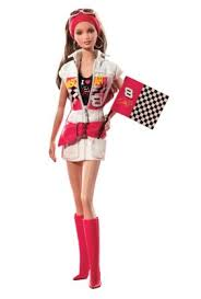 Nascar Halloween Costume Dale Earnhardt Jr Nascar Barbie Doll K7973 Barbie Signature