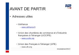 chambre de commerce française à l étranger vivre et travailler à l étranger
