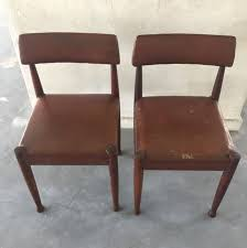 50s Dining Chairs 80s Retro Dining Chairs Antiques Antique Furniture On Carousell