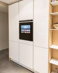 apple tv in the cabinet part of siematic u0027s