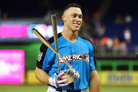 Aaron Judge Made His Mlb Debut In Center Field - aaron judge wins mlb home run derby 2017 and breaks the internet