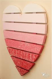 Diy Valentine S Day Decorations For Home by Heart Shaped Chalkboard Using Chalkboard Paint Diy Valentine