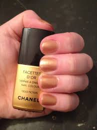 the beauty of life throwback thursday chanel gold fiction nail