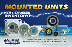 Unit New And Expanded Inventory Of Mounted Unit Bearings