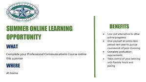 communications class online keller isd offering professional communications course online this