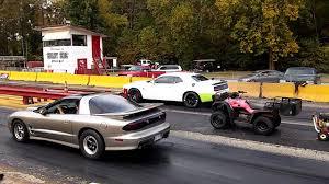 Trans Am 2015 2001 Pontiac Trans Am Ws6 6sp Vs 2015 Dodge Challenger Hell Cat