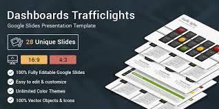 google themes lights dashboards traffic lights diagrams google slides presentation template