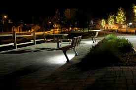 Bench Lighting Bayview Park Bench Wishbone Site Furnishings