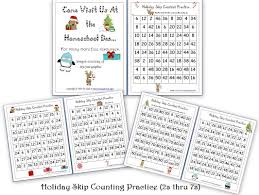 Skip Counting By Fives Worksheets Math General Posts Homeschool Den