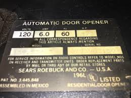 i have a craftsman 1 2 hp garage door opener i can not sync my