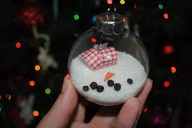 melted snowman ornament diy crafts