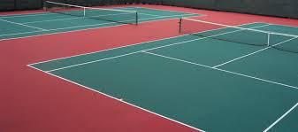 Backyard Tennis Court Cost Tennis Court Surfaces For Indoor U0026 Outdoor Tennis Courts Mateflex