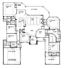 que Design 4 Custom Home Plans California Ranch Style