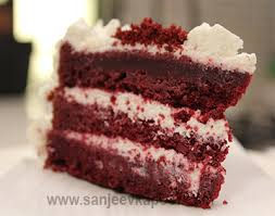 red velvet cake non vegetarian recipe by master chef sanjeev kapoor